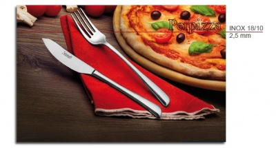 12 COLTELLI PIZZA FORGIATO mod. PERPIZZA