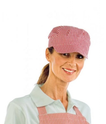 CAPPELLO SAM RIGA ROSSA 100 % COTTON