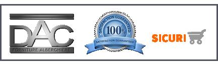 soddisfazione cliente garantita DAC Forniture