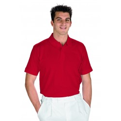 POLO ROSSA TG L Isacco COT.100%